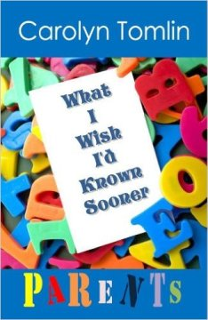 "The cover of ""What I Wish I'd Known Sooner: Parents."""
